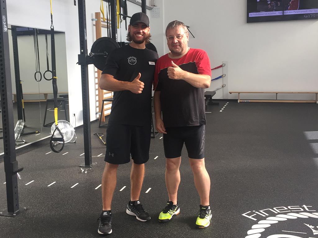 Erfolgsgeschichten Michael K. Finest Fitness Express Hemsbach