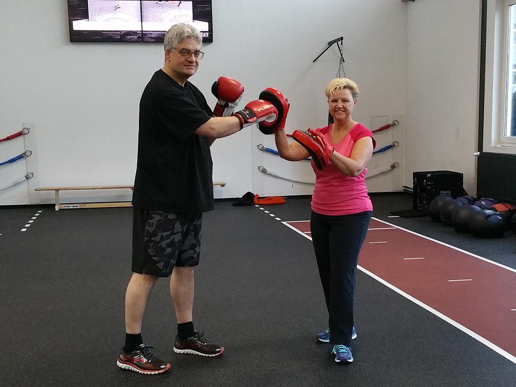 Erfolgsgeschichten Angelika & Klaus N. Finest Fitness Express Hemsbach